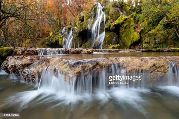 Amazing waterfall in Jura, Franche Comté