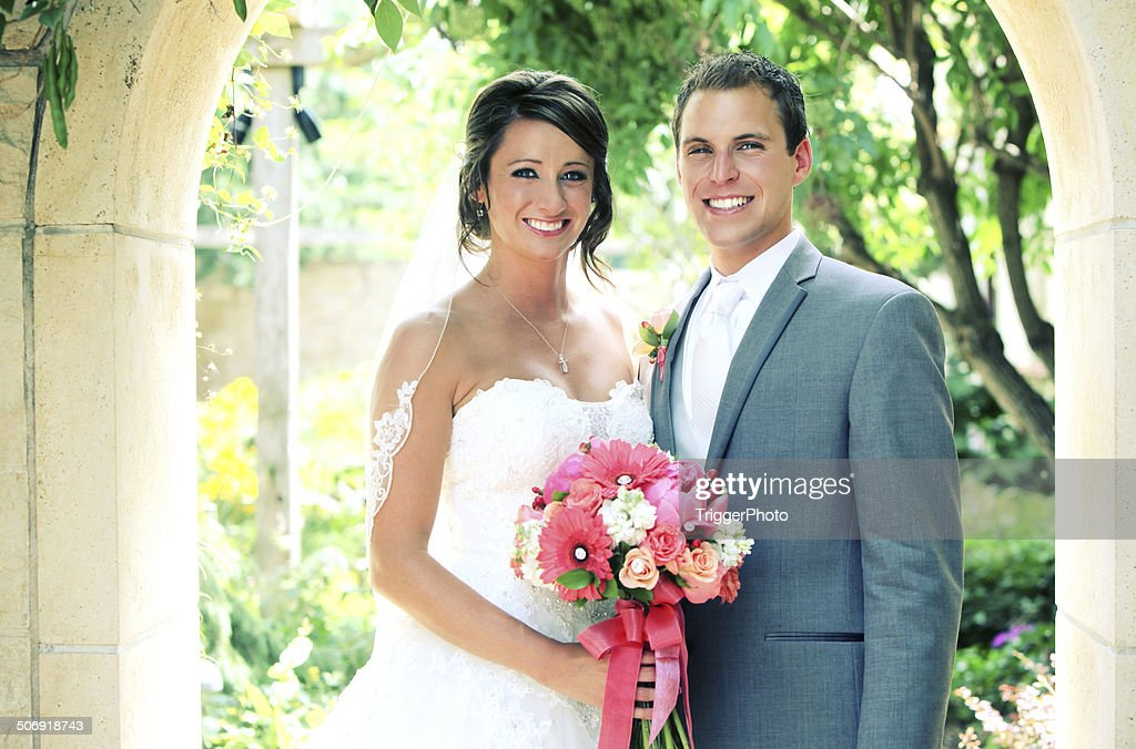Amazing Wedding Portraits : Stock Photo