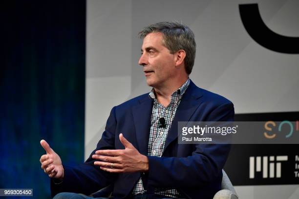 Amazon Alexa President Tom Taylor speaks at the 'Solve At MIT Opening Plenary The Heart Of The Machine Bringing Humanity Back Into Technology' at...