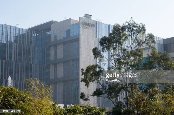 アマゾンキャンパス、ハイデラバード、インド - ハイデラバード ストックフォトと画像
