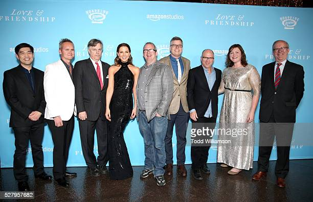 Amazon COO Albert Cheng Amazon Studios Head Roy Price Writer/Director Whit Stillman actress Kate Beckinsale Amazon Head of Motion Picture Production...
