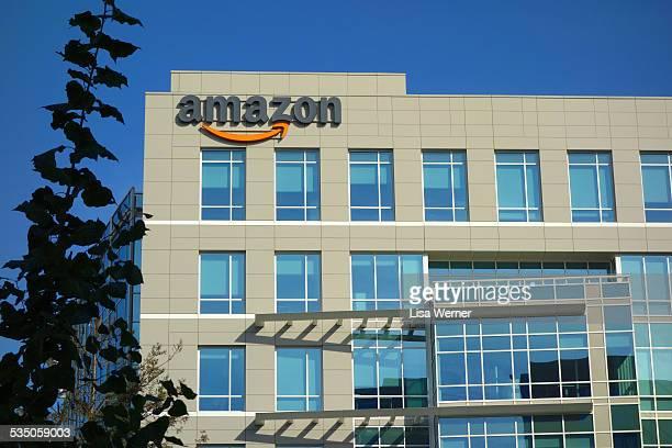 Amazon corporate office building in Sunnyvale California