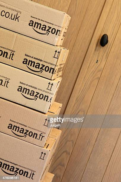 Amazon Delivery at the Door