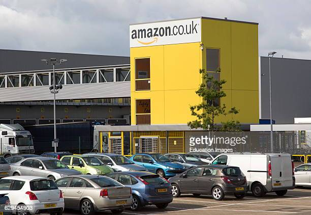 Amazon distribution center headquarters Swansea West Glamorgan South Wales UK