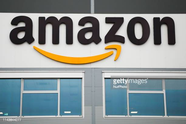 Amazon fulfilment center in Sosnowiec Poland on 13 May 2019 The fifth Amazon fulfilment center in Poland is built in the Upper Silesia region The...