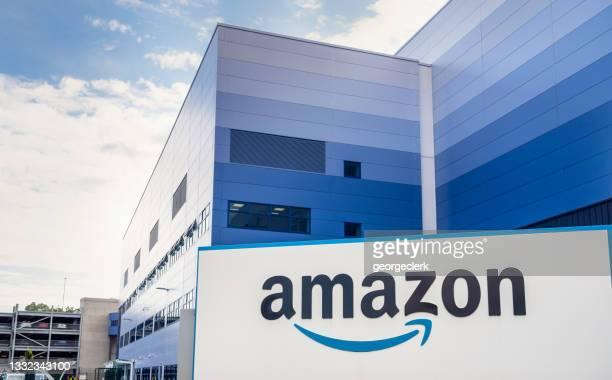 アマゾンフルフィルメントセンター - ミルトンキーンズ ストックフォトと画像