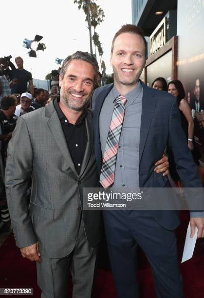 Amazon Head of International Productions Morgan Wandell and Senior Development Executive Drama Amazon Studios Marc Resteghini at the Amazon Prime...