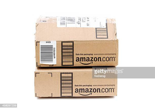 Amazon online retailer packages