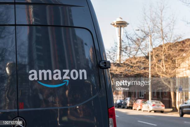 amazon prime delivery - amazon prime stock pictures, royalty-free photos & images
