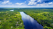 Amazon river in Brazil