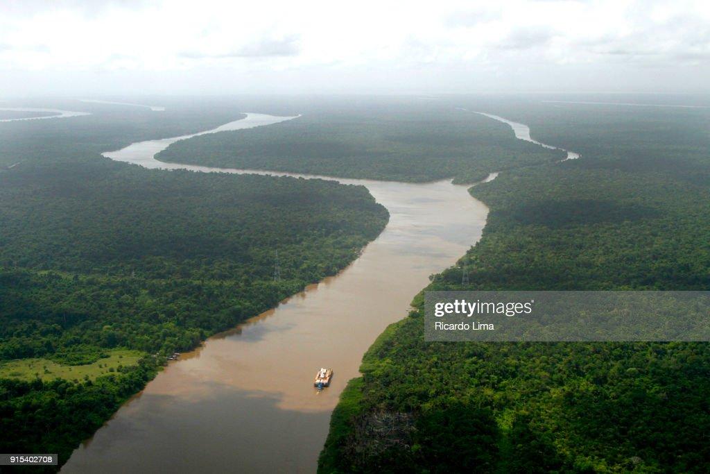 Amazon River, Near Belem : Foto de stock