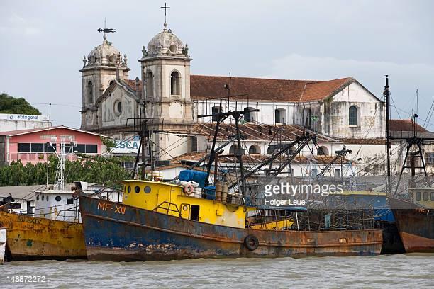 Amazon river waterfront.