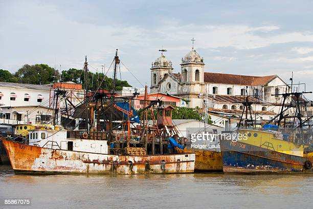 amazon river waterfront. - para state stock pictures, royalty-free photos & images