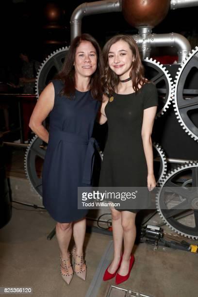 Amazon Studios Head of Kids Programming Tara Sorensen and Ashley Boettcher attend Amazon Studios' premiere for Lost In Oz at NeueHouse Los Angeles on...