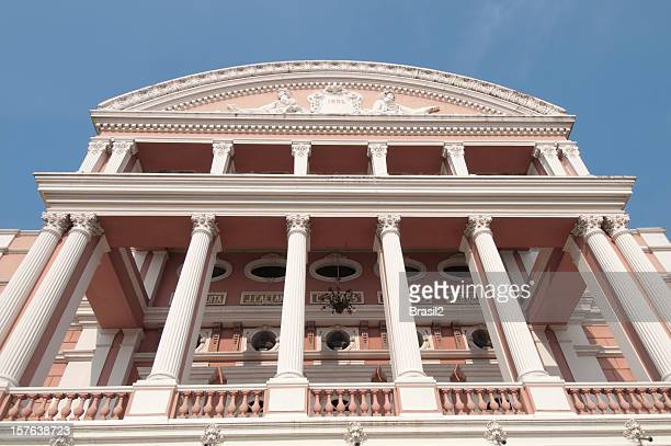 teatro amazonas opera house - manaus stock pictures, royalty-free photos & images