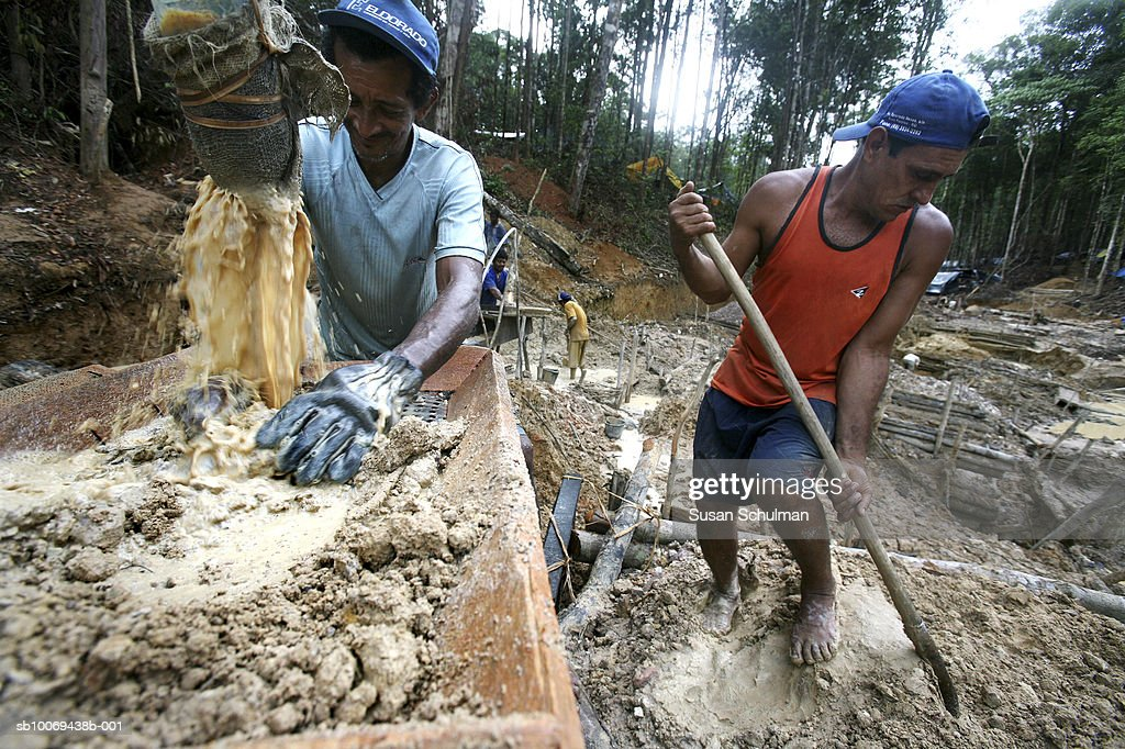 March 2007, Thousands are flocking to what most refer to as Brazil's new El Dorado. Rich deposits of gold are being mined and panned at huge cost to the environment in the ever dwindling Brazilian rain forest.