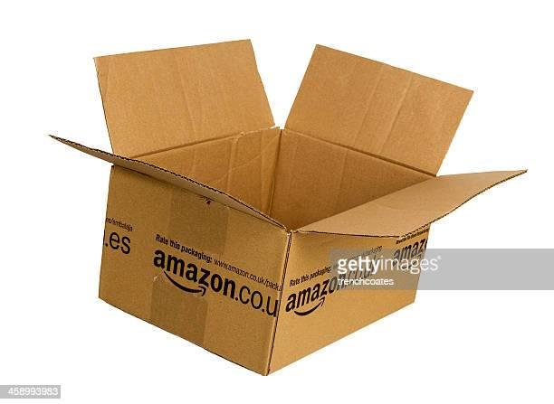 Amazon.com cardboard box