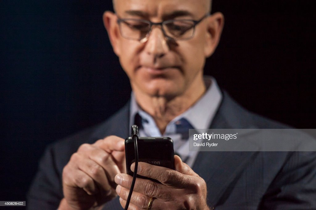 Amazon Unveils Its First Smartphone : News Photo
