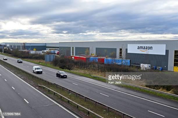 Amazon's Dunfermline distribution centre, on December 7, 2020 in Dunfermline, Scotland.