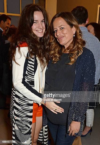Amba Jackson and Jade Jagger attend the launch of the new 'Jade Jagger' New Bond Street showroom on May 6 2014 in London England
