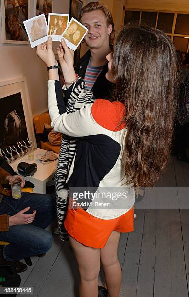 Amba Jackson attends the launch of the new 'Jade Jagger' New Bond Street showroom on May 6 2014 in London England