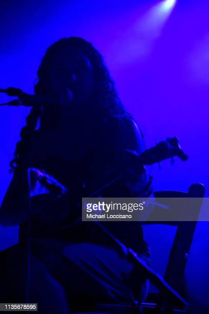 Ambar Lucid performs during the SXSW Presents Wednesday Night at Stubb's showcase at Stubb's on March 13 2019 in Austin Texas