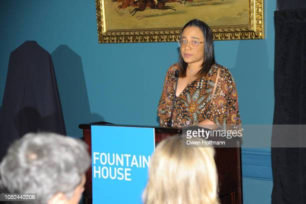 Ambar Paredes attends the Fountain House Fall Fete at The New York Racquet and Tennis Club on October 17 2018 in New York City