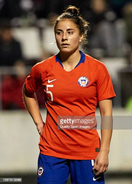 Ambar Soruco of Chile Women during the International Friendly match on January 21 2019 in Hospitalet de Llobregat Spain