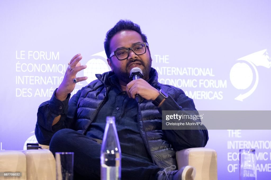 Ambarish Mitra Co Founder and CEO, Blippar attends the first edition of the Conference of Paris of the International Economic Forum of the Americas, in Paris, on December 7, 2017 in Paris, France. IEFA organizes annual summits bringing together heads of states, central bank governors, ministers and global economic decision makers. This annual meeting focus on providing a better understanding of the major challenges facing the global economy, with particular attention to relations between Europe and other continents.