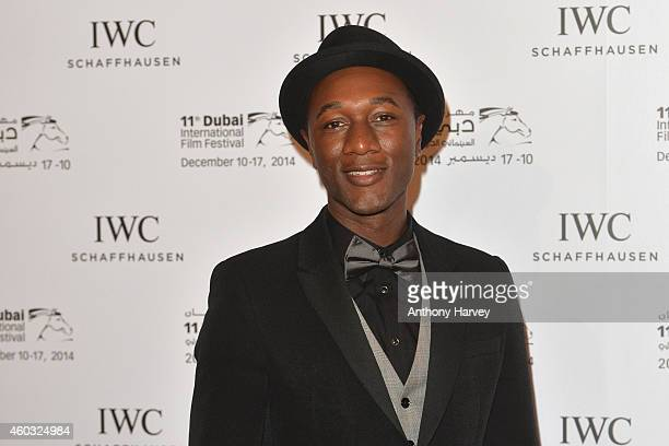 Ambassador Aloe Blacc during the IWC Filmmaker Award Night 2014 at The One Only Royal Mirage on December 11 2014 in Dubai United Arab Emirates