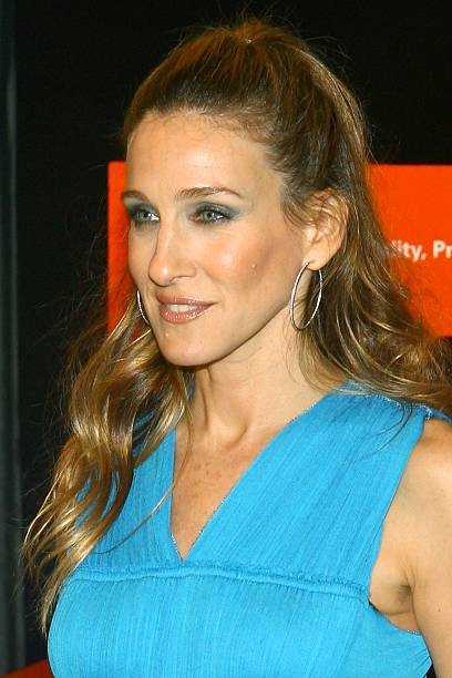 ambassador and actress sarah jessica parker hosts the unicef halloween party at the unicef house on