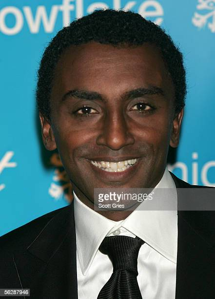 Ambassador and Chef and coowner of Aquavit Marcus Samuelsson attends the 2nd Annual Snowflake Ball at the WaldorfAstoria Hotel on November 28 2005 in...