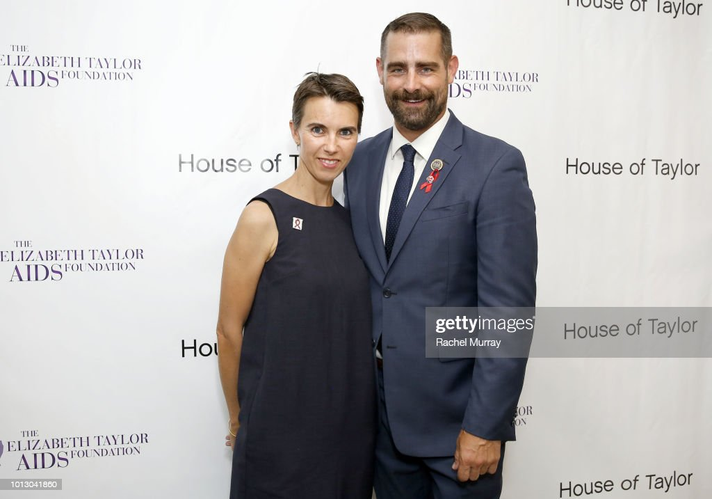 Colin Farrell And Rep. Brian Sims Co-host A Dinner At House Of Taylor Benefitting The Elizabeth Taylor AIDS Foundation : News Photo