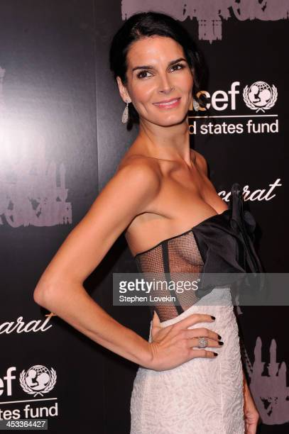 Ambassador Angie Harmon attends The Ninth Annual UNICEF Snowflake Ball at Cipriani Wall Street on December 3 2013 in New York City