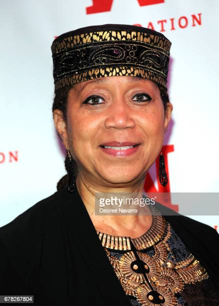 Ambassador Attallah Shabazz attends Ms Foundation for Women 2017 Gloria Awards at Capitale on May 3 2017 in New York City