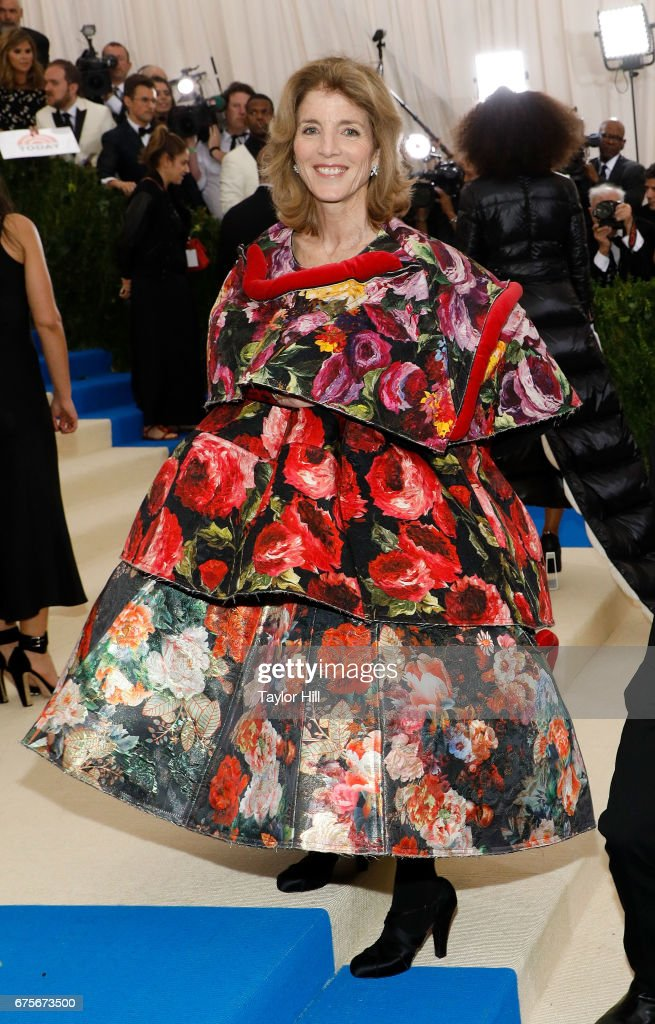 Ambassador Caroline Kennedy attends 'Rei Kawakubo/Commes Des Garcons: Art of the In-Between' at Metropolitan Museum of Art on May 1, 2017 in New York City.