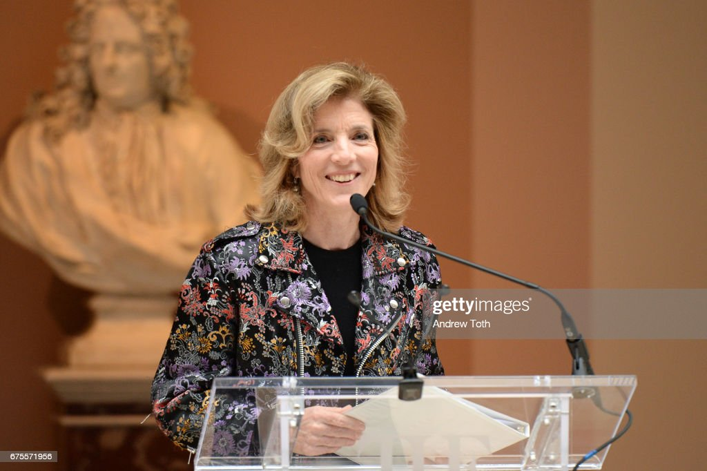 Ambassador Caroline Kennedy attends the 'Rei Kawakubo/Comme des Garcons: Art Of The In-Between' Costume Institute Gala press preview at Metropolitan Museum of Art on May 1, 2017 in New York City.