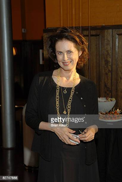 """Ambassador Dayle Haddon attends a screening of """"Invisibles"""" at the Tribeca Cinemas on September 8, 2008 in New York City."""