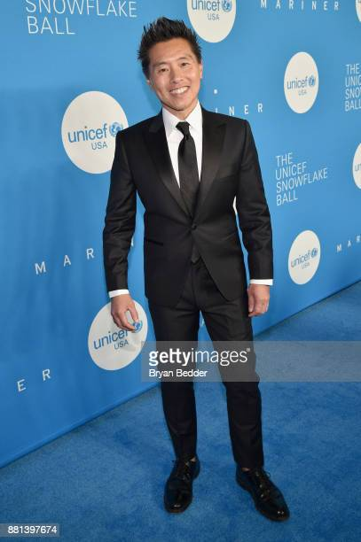Ambassador Decor Design Vern Yip attends 13th Annual UNICEF Snowflake Ball 2017 at Cipriani Wall Street on November 28 2017 in New York City