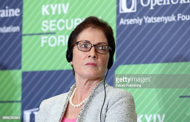 Ambassador Extraordinary and Plenipotentiary of the United States of America to Ukraine Marie Yovanovitch partakes in the Kyiv Security Forum...