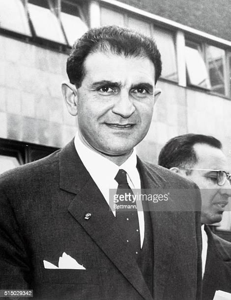 Ambassador from Ravaged Country London airport Mr Ardeshir Zahedi the new Persian ambassador to Britain whose earthquakeravaged country is today...