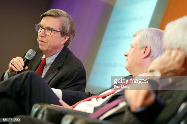 Ambassador Gordon D Giffin and the Right Honourable Stephen Harper speak about Trump Trudeau and Nieto regarding NAFTA Negotiations at Dentons NAFTA...