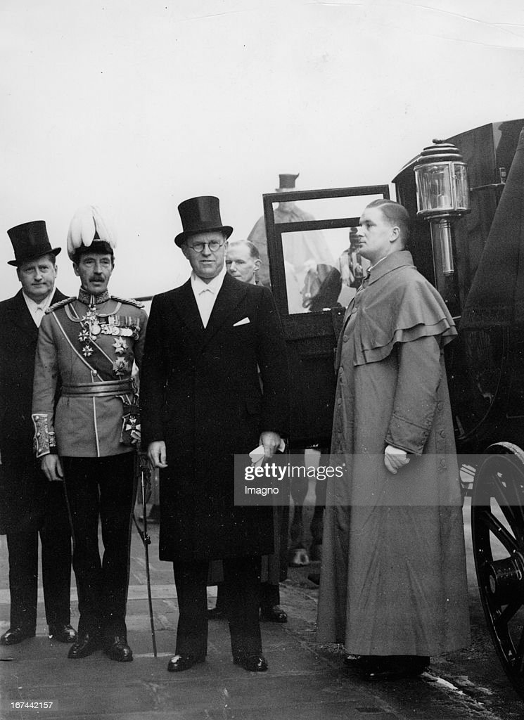 Ambassador in London Joseph P. Kennedy. Grossbritannien. Photograph. 1938. (Photo by Imagno/Getty Images) Botschafter in London: Joseph P. Kennedy. Grossbritannien. Photographie. 1938.