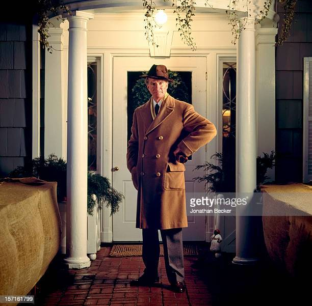 Ambassador Joseph Verner Reed, Jr. Is photographed for Vanity Fair Magazine on December 19, 1993 at home in Denbigh Farm, in Greenwich, Connecticut....