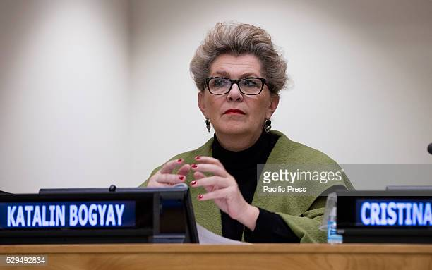 Ambassador Katalin Bogyay of Hungary participated on a special event entitled Voices of Victims of Human Trafficking Readings from River of Flesh and...