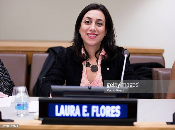 Ambassador Laura E Flores of Panama participated on a special event entitled Voices of Victims of Human Trafficking Readings from River of Flesh and...
