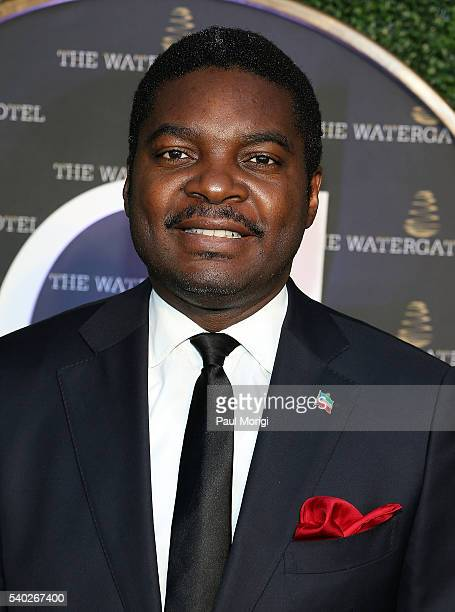 Ambassador Miguel Ntutumu Evuna of Equatorial Guinea at the grand reopening party of the iconic Watergate Hotel on June 14 2016 in Washington DC