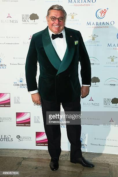Ambassador Nunzio Alfredo D'Angieri arrives at Children For Peace Gala on November 28 2015 at Spazio Novecento in Rome Italy