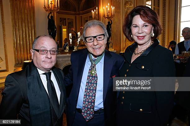 Ambassador of Argentina to France Jorge Fauri Lalo Schifrin and his wife Donna attend Composer and pianist Lalo Schifrin receives the Medal of...