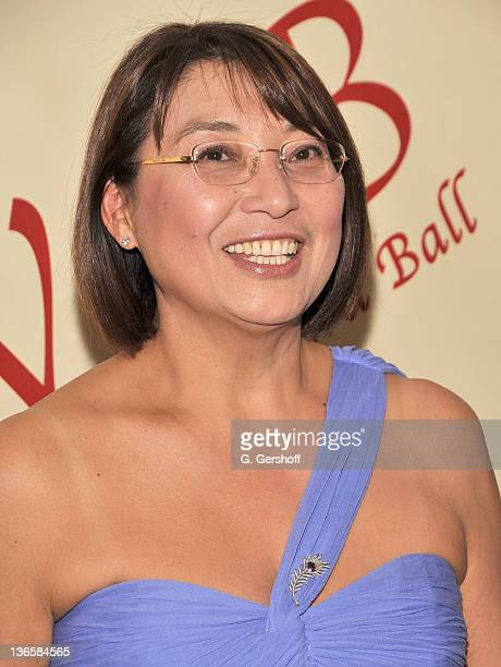 Ambassador of Kazakhstan to the U.N., H.E. Mrs. Byrganym Aitimova attends the 56th annual Viennese Opera Ball at The Waldorf=Astoria on February 4,...